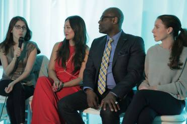 Photo courtesy of Danielle Villela Menagerie Wedding Panel: Anne Chertoff, Annie Lee, Marc Wilson, Michelle Elaine