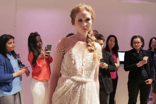Photo courtesy of Danielle Villela SPINA Bride Fashion Show